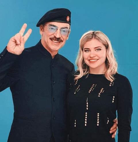 Михаил Боярский с внучкой Катериной