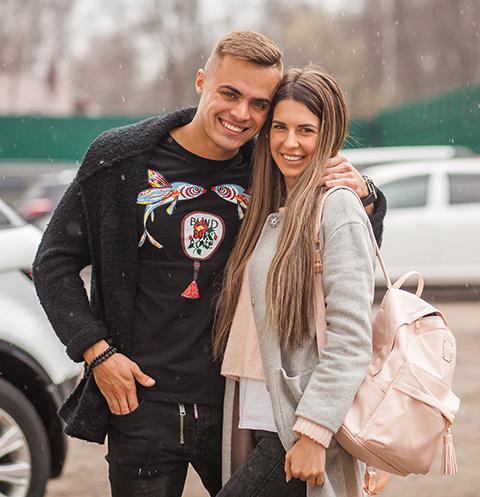 Майя Донцова и Леша Купин