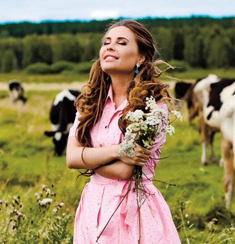 На упаковке семян «Уральский огород от Юлии Михалковой» станет красоваться сама актриса