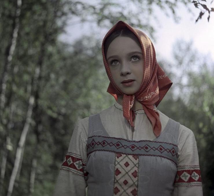 Наталья Седых в фильме «Морозко»