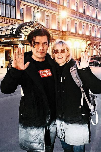Стингрей до сих пор дружит с первым мужем, Юрием Каспаряном