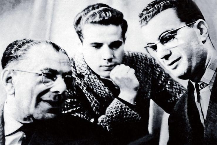 Игорь Кио с отцом и братом