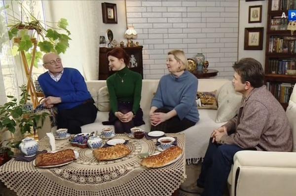 Эмилия Спивак гордится своей семьей