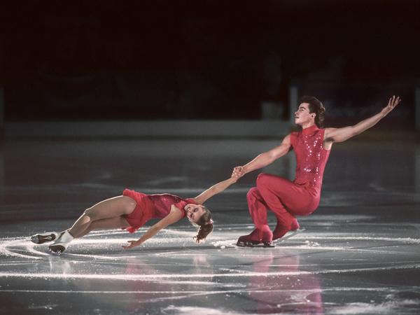 Под руководством Жука дуэт Сергея Гринькова и Екатерины Гордеевой завоевал серебро на чемпионатах Европы и СССР