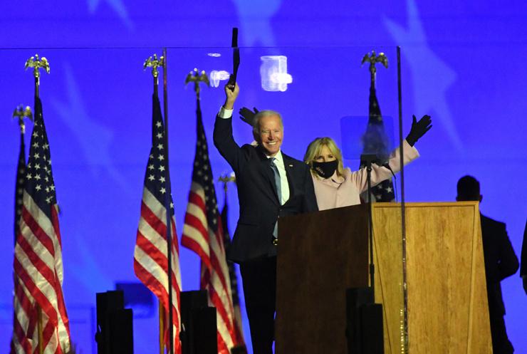 Джо Байден считает, что на выборах победил он