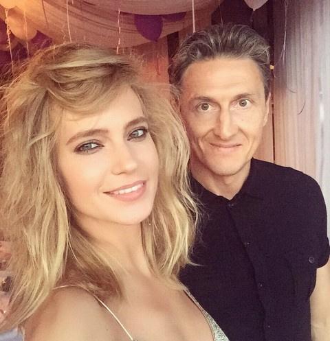 Глюк'оZа с супругом Александром Чистяковым