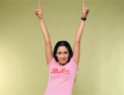 Корреспондент «СтарХита» стала факелоносцем Олимпиады