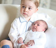 Опубликованы первые совместные фото детей Кейт Миддлтон