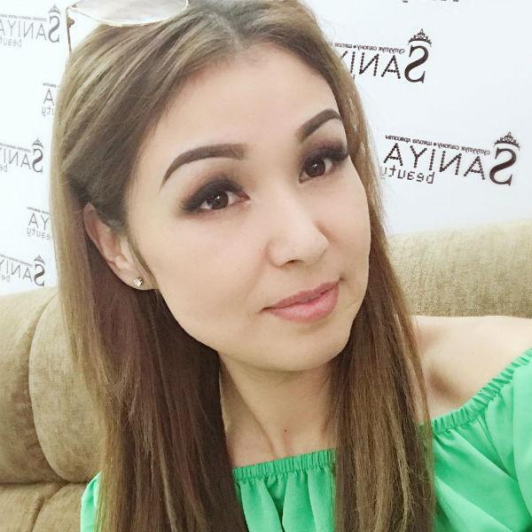 Сания считалась одной из самых красивых женщин Кыргызстана