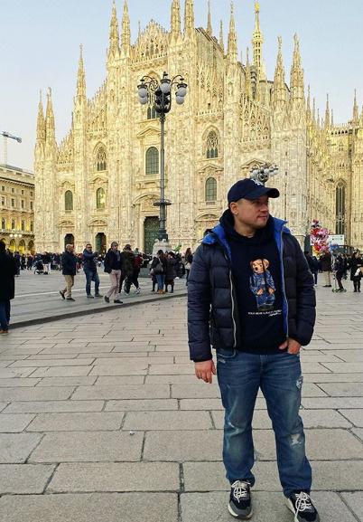 Гайдулян совершит небольшой трип по Италии