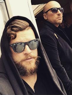 Дмитрий и Кирилл Нагиевым