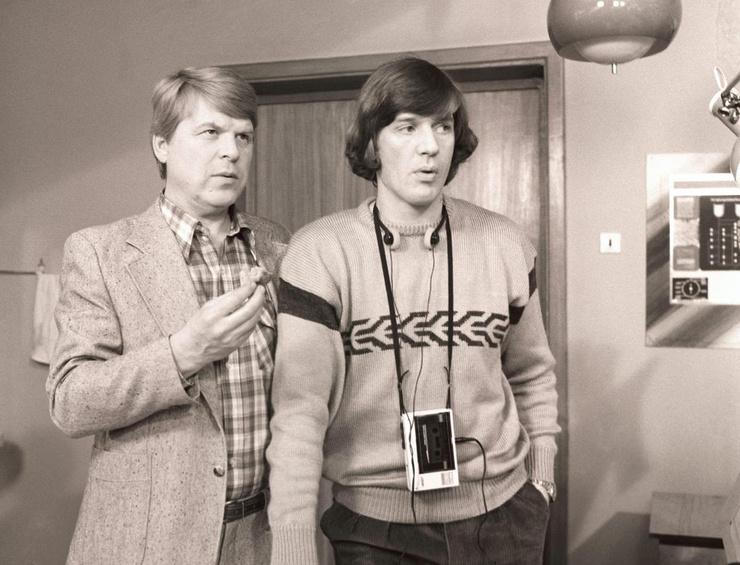 Михаил Кокшенов был легендой советского кинематографа. На фото с Александром Абдуловым
