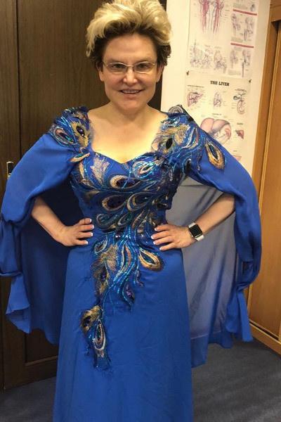 Елена Малышева похудела до 75 килограммов
