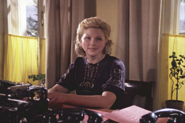 Актрисе часто доставались роли сильных и уверенных в себе женщин
