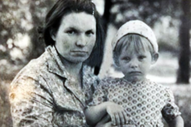 Машная признавалась, что даже не знает, где похоронили ее мать
