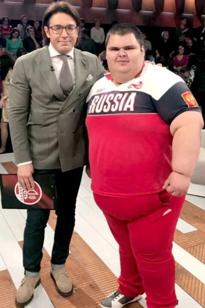 Хатохов с Андреем Малаховым