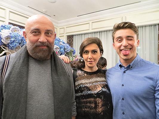 Павел Каплевич, Катя Мцитуридзе и Артем Королев