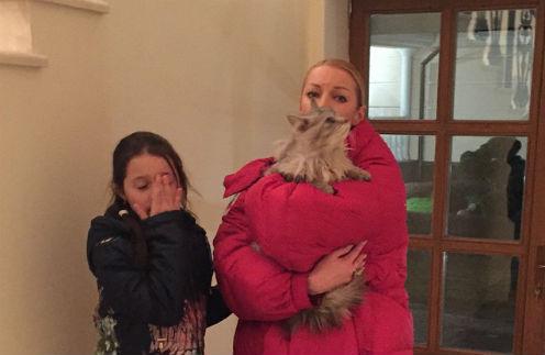 Ариадна и Анастасия Волочкова вернули беглеца домой