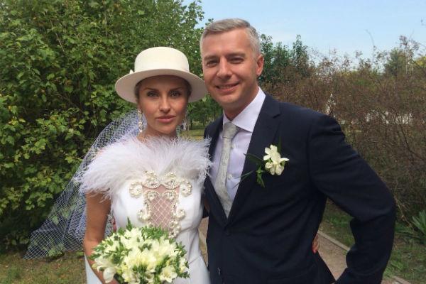 Влюбленные поженились в августе 2018 года