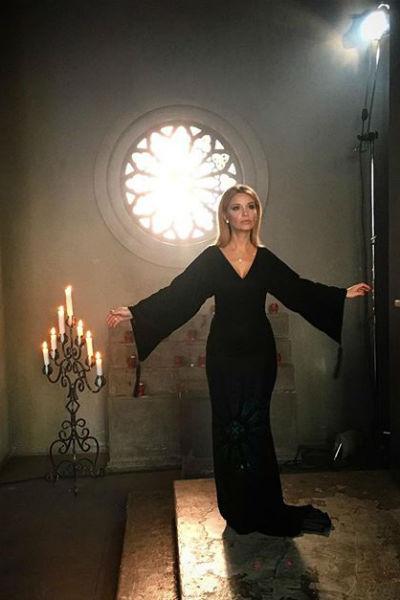 Во время съемок клипа Ольги