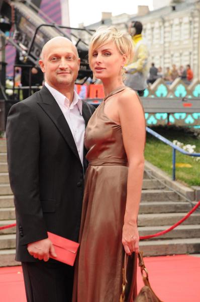 Гоша Куценко с супругой Ириной Скриниченко