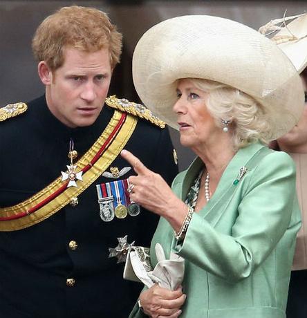 Принц Гарри о Камилле Паркер-Боулз: «Она не злобная мачеха» | StarHit.ru