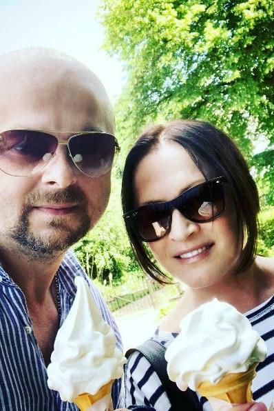 София Ротару с сыном через несколько дней после болезни