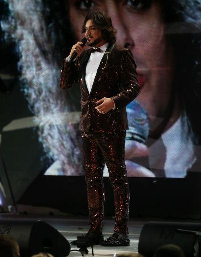 Филипп Киркоров сменил за вечер несколько костюмов