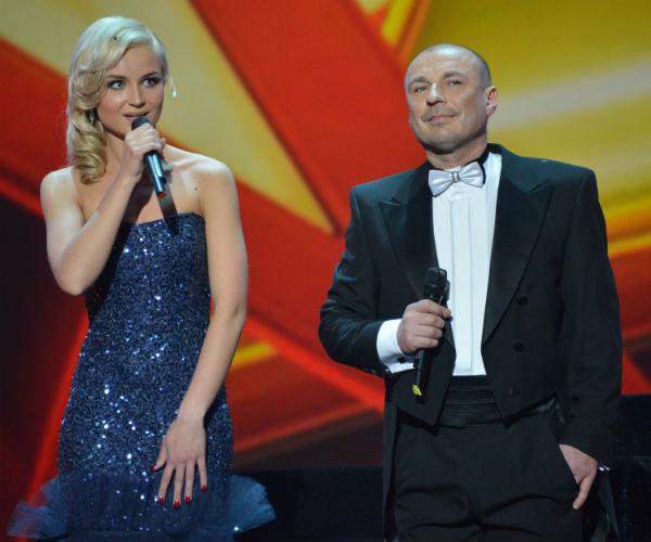 Полина Гагарина и Александр Жулин