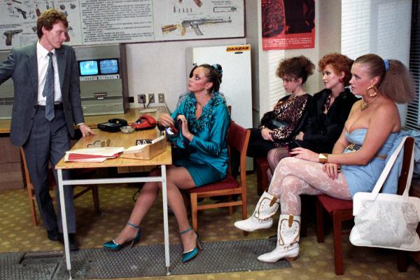 В «Интердевочке» актриса появилась перед зрителями в образе «ночной бабочки»