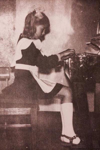 В детстве Бирюкова была стеснительной девочкой