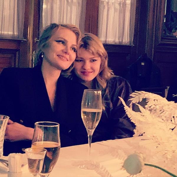 Рената с дочкой Ульяной