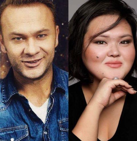 Дмитрий Ермак и Ольга Мукукенова