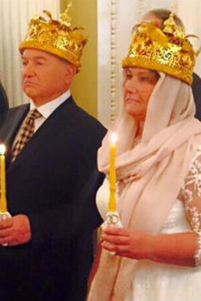 Юрий Лужков и Елена Батурина