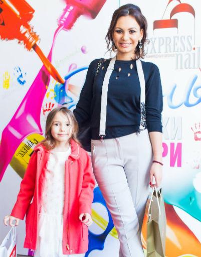 Инна Жиркова с дочерью Миланой