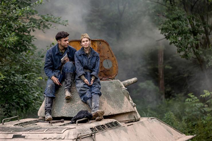Дарья Мельникова сыграла возлюбленную главного героя