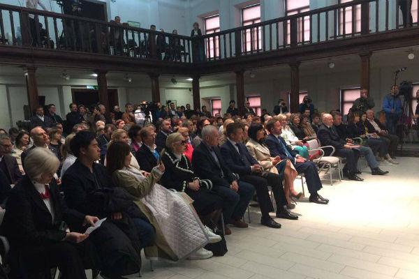 Гости торжественной церемонии