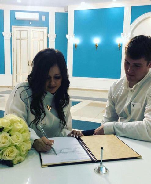 Бракосочетание прошло в тихой обстановке