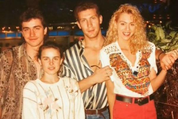 Игорь с супругой Лисой и друзьями