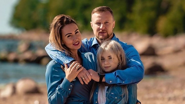 Вячеслав Малафеев с женой и дочерью