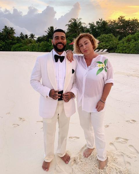 Тимати с мамой Симоной Юнусовой