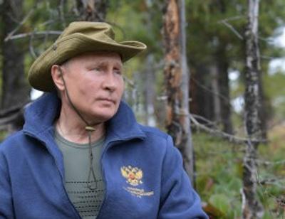 Владимир Путин отметил день рождения с Сергеем Шойгу в сибирской тайге. ФОТО