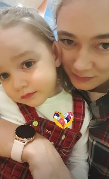 Оксана с малышкой Эмми