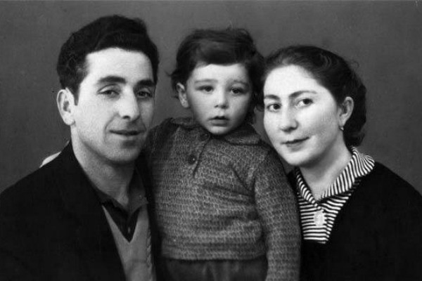 Григорий Лепс с родителями