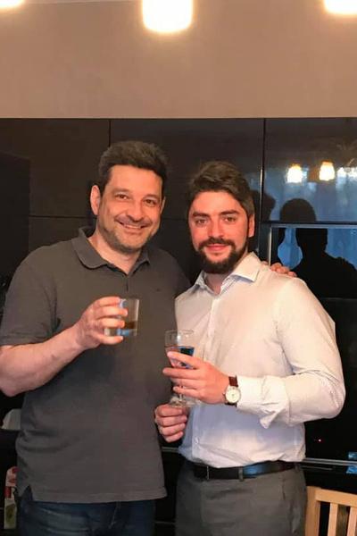 Максим Моргунов и Илья Свиридов (справа)
