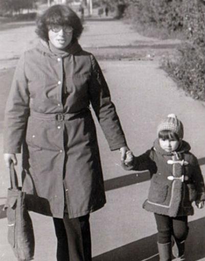 Анфиса Чехова с мамой Натальей