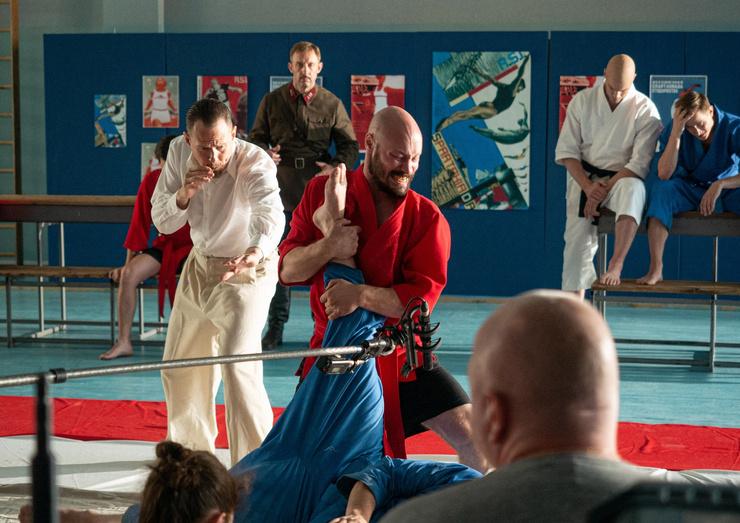 Все актеры уже были знакомы с техникой боевых искусств