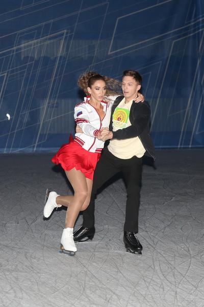 Ольга Бузова много тренировалась с Дмитрием Соловьевым