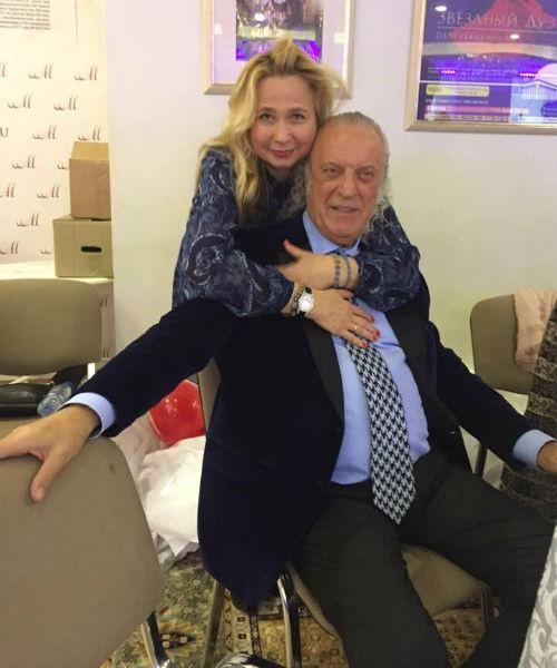 Илья Резник с женой Ириной