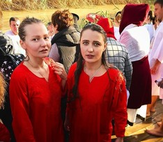 Жена Краско, Галыгин и Федорова окунулись в крещенскую купель